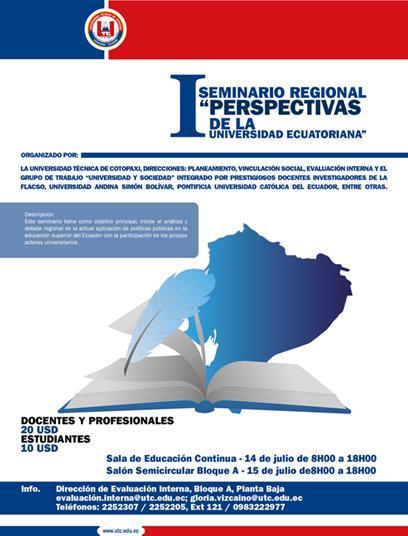 Seminario regional universidad Técnica Cotopaxi